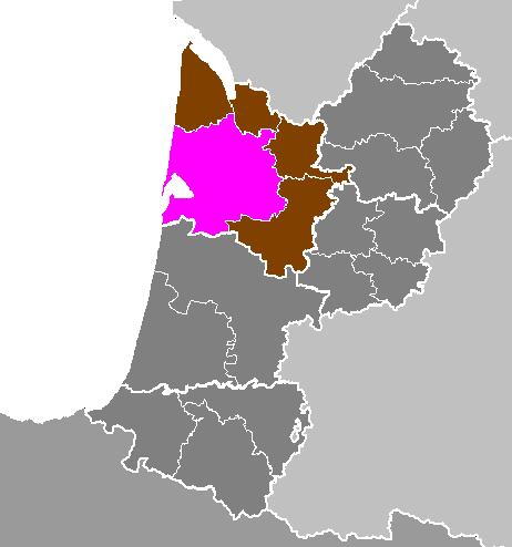 Image:D?partement de la Gironde - Arrondissement de Bordeaux
