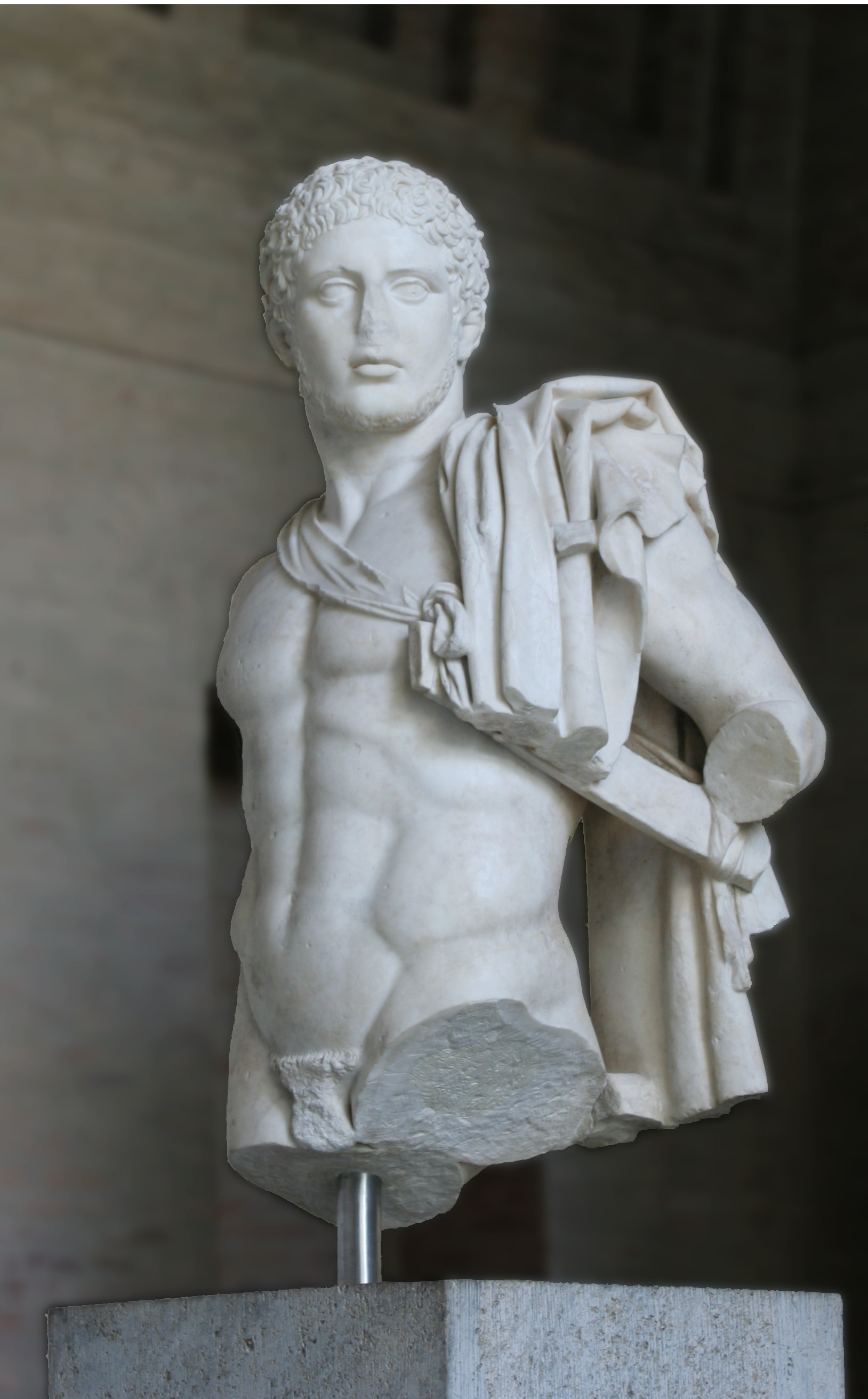 Diomedes, King of Argos – Roman copy of a statue by Kresilas from ca. 430 BC. Glyptothek, Munich.
