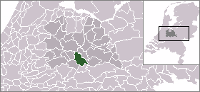 Location of Houten