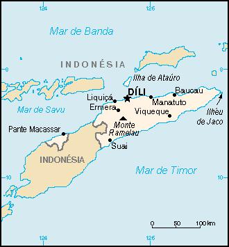 Geografia de Timor-Leste – Wikipédia, a enciclopédia livre