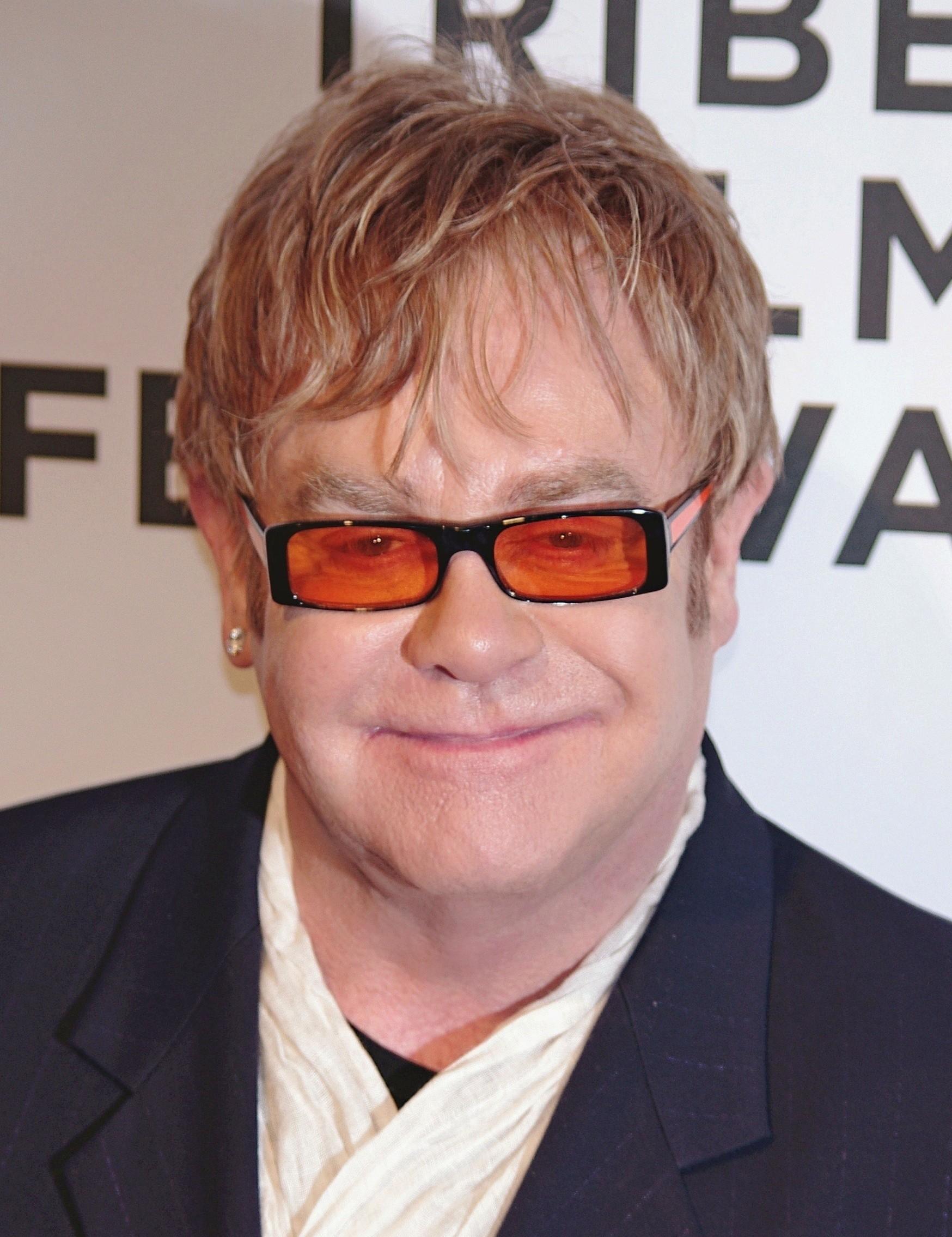Photo Elton John via Opendata BNF
