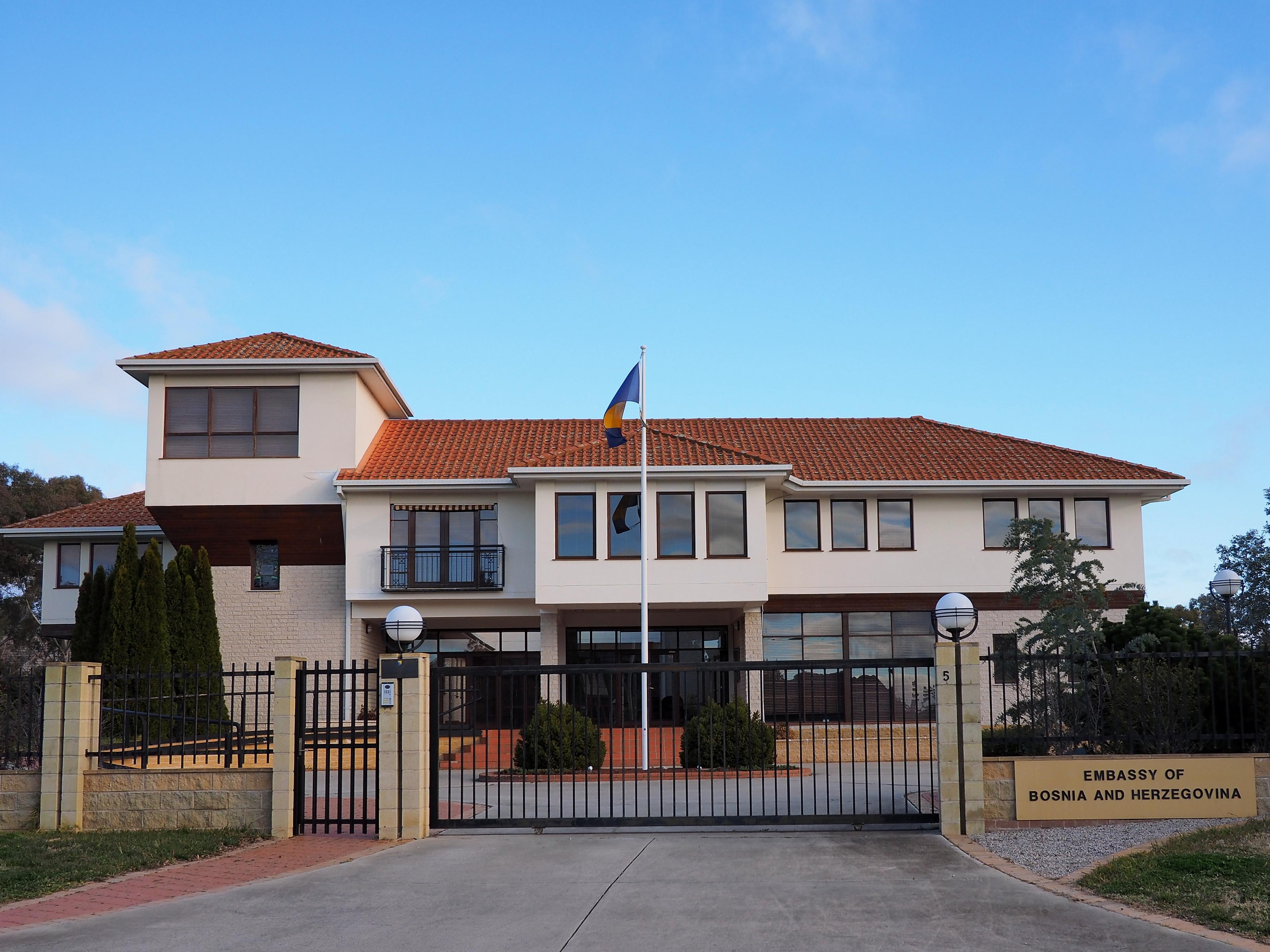 Ambasada Bosne I Hercegovine U Canberri Wikipedia
