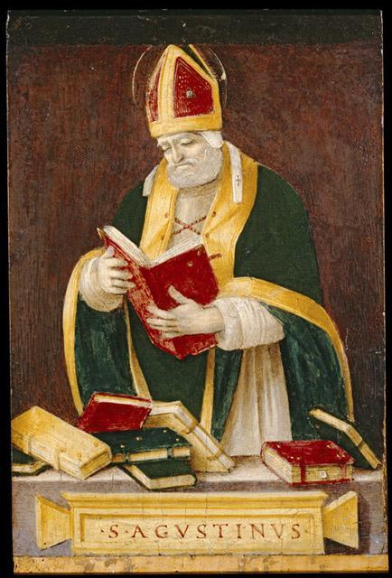 Filippino Lippi, Sant'Agostino dans immagini sacre