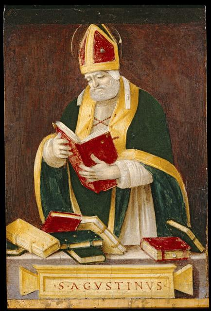 Filippino Lippi, Saint Augustin dans images sacrée
