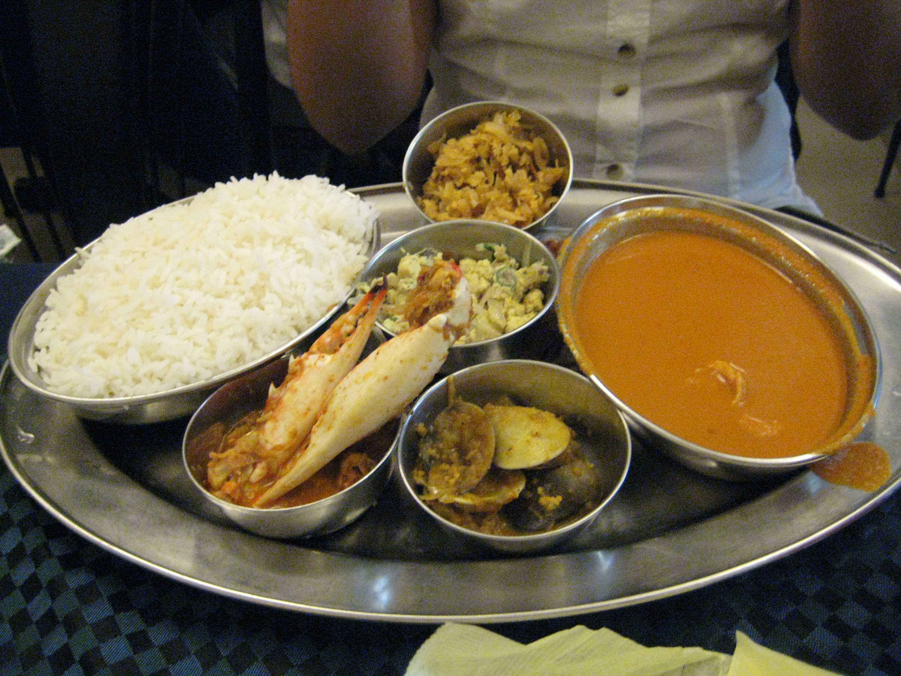 File Fish Curry Rice Goa Jpg Wikimedia Commons
