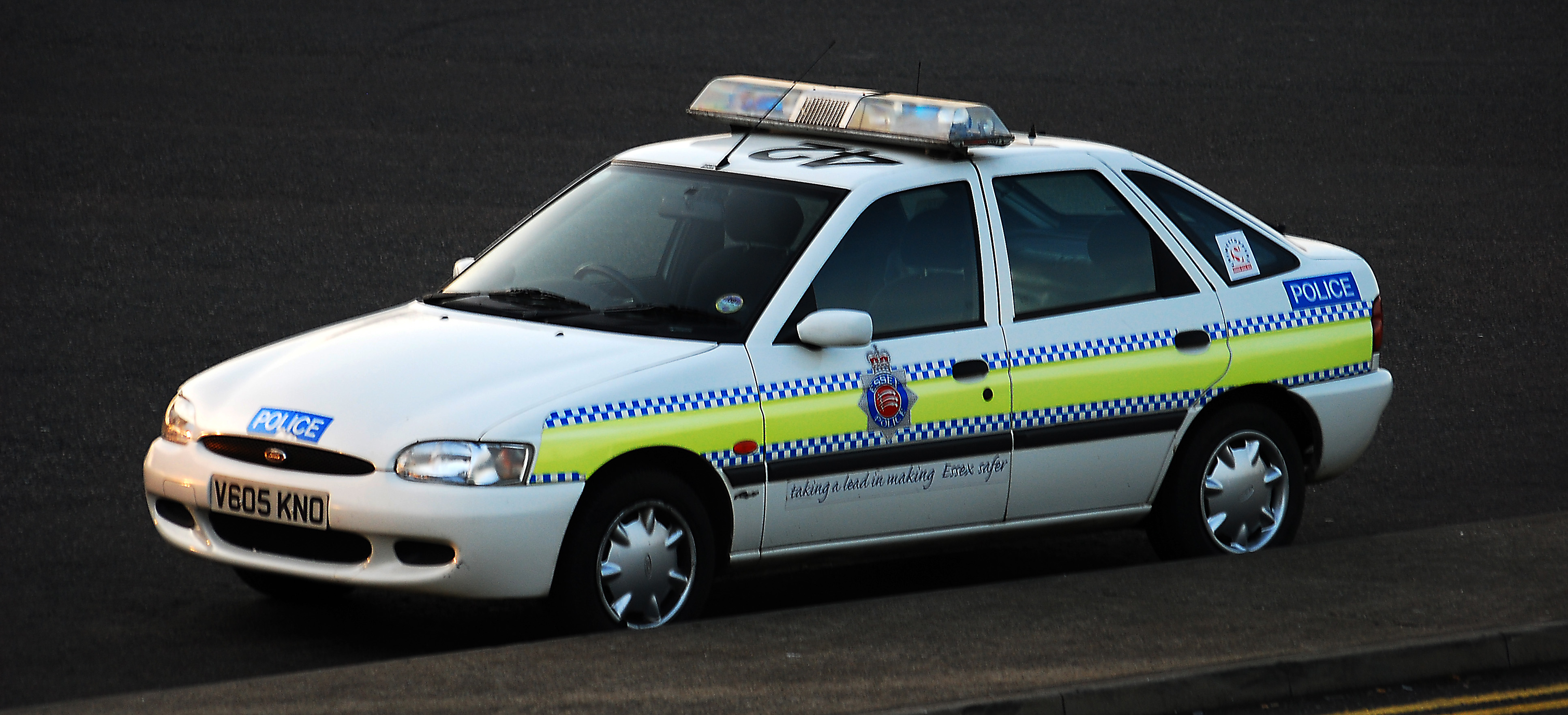 File Ford Escort Police Car Jpg Wikimedia Commons