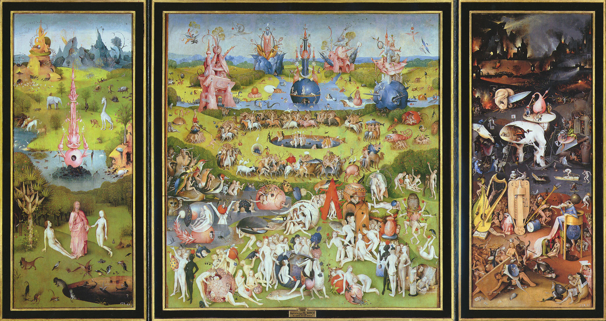Bosch, The Garden of Earthly Delights