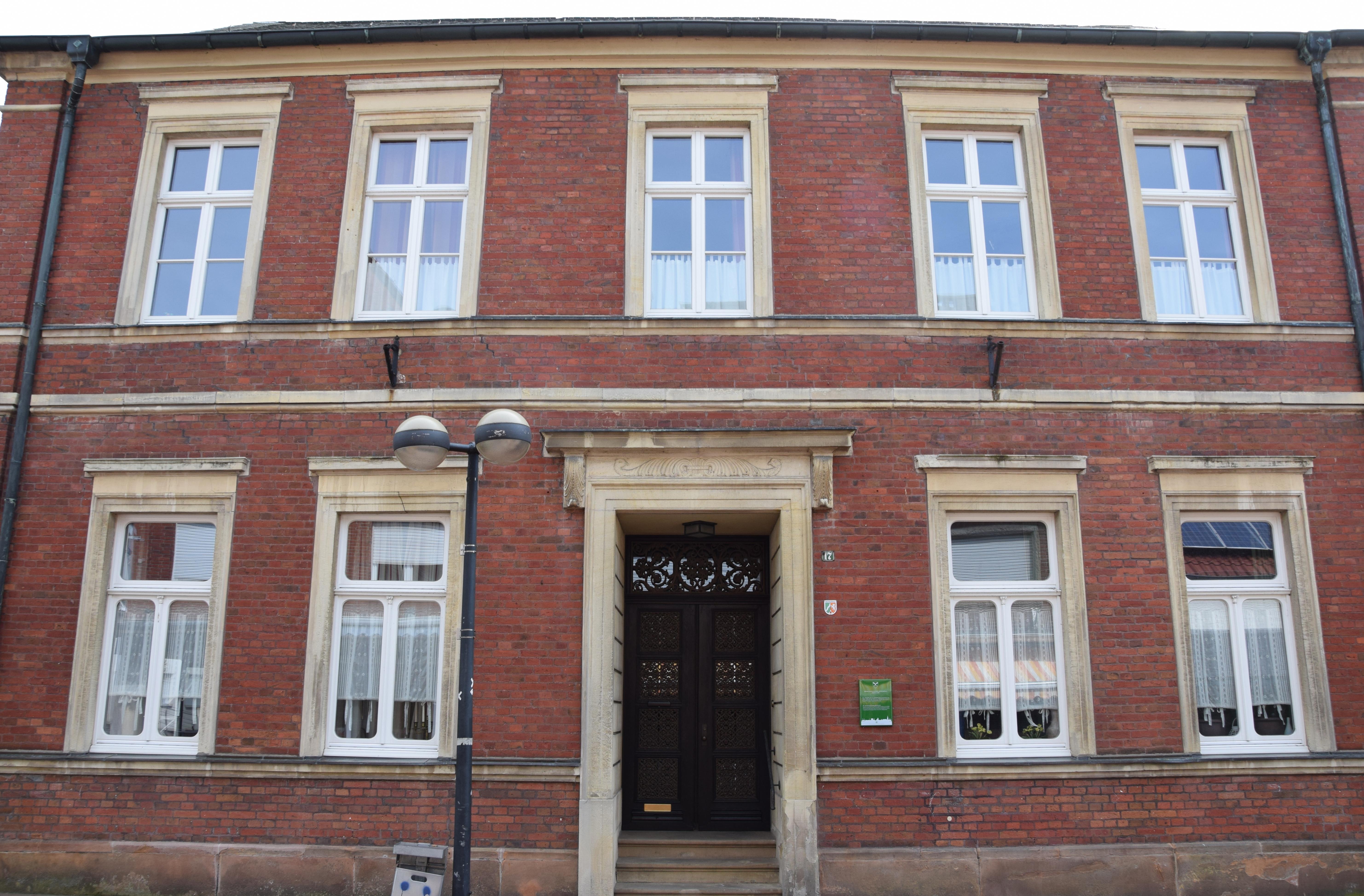 Künstlerisch Fassade Haus Ideen Von File:gescher, Eckrodt.jpg