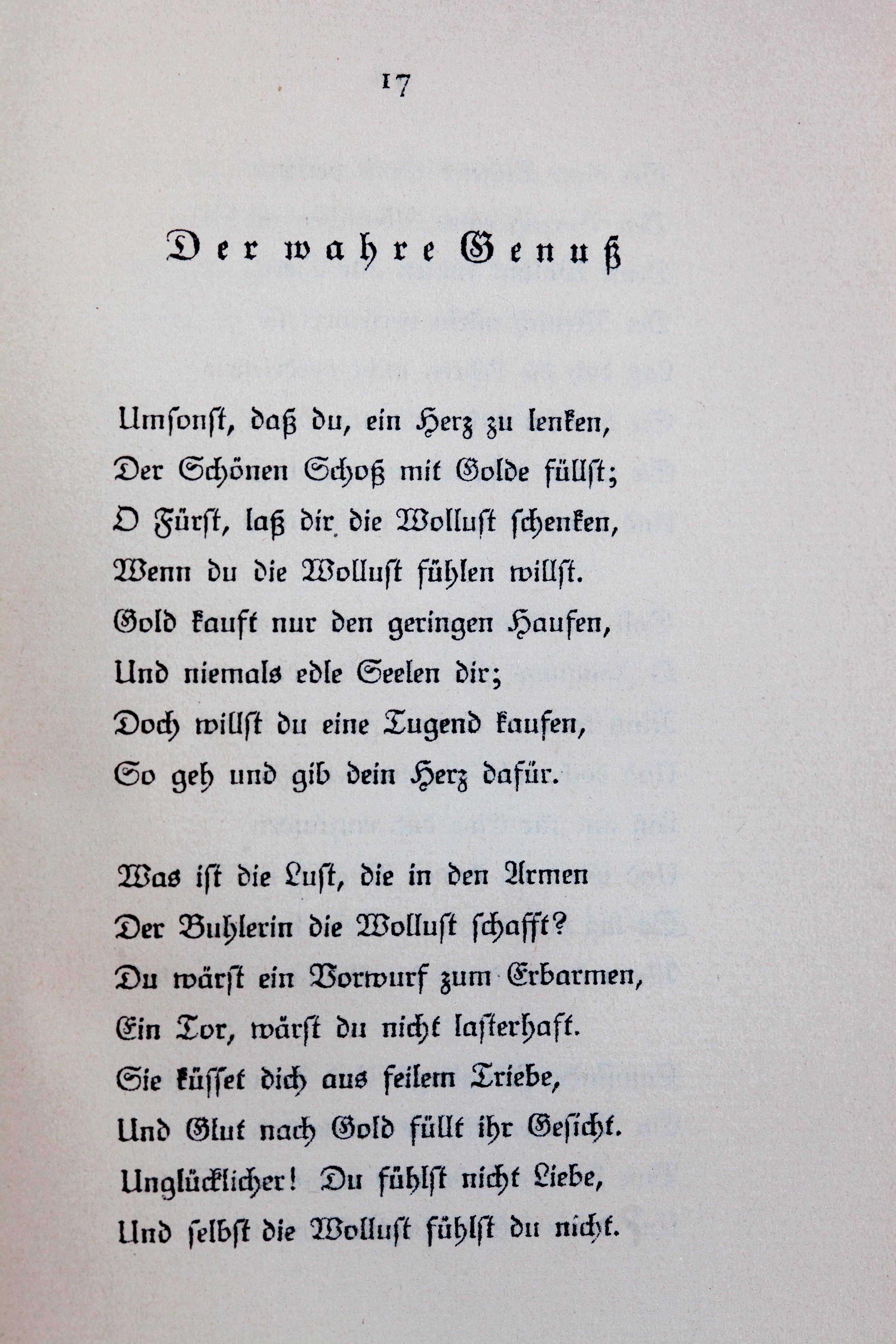 Filegoethes Liebesgedichte Im Insel Verlag 017jpg