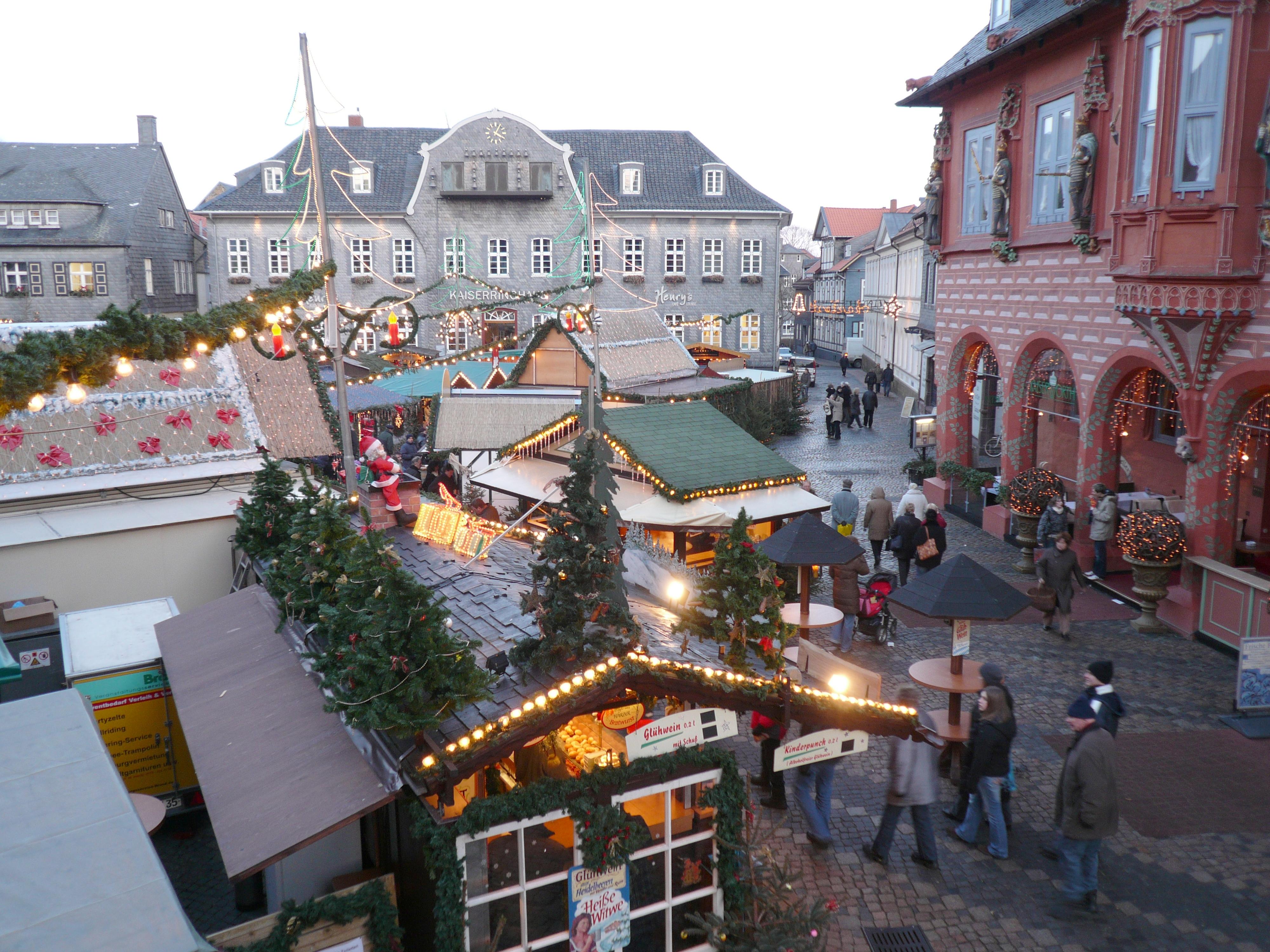 Weihnachtsmarkt Ratzeburg.Datei Goslarweihnachtsmarkt Jpg Wikipedia