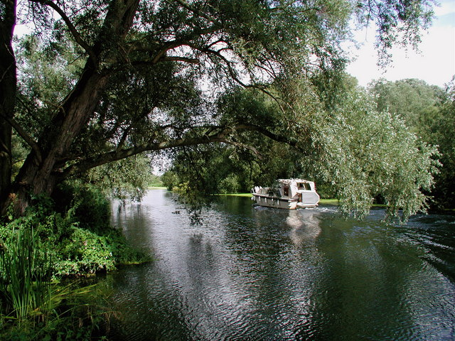 Great River Ouse near Paxton Pits - geograph.org.uk - 222066