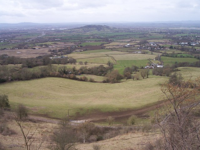 Greenfield Farm from Crickley Hill - geograph.org.uk - 135058