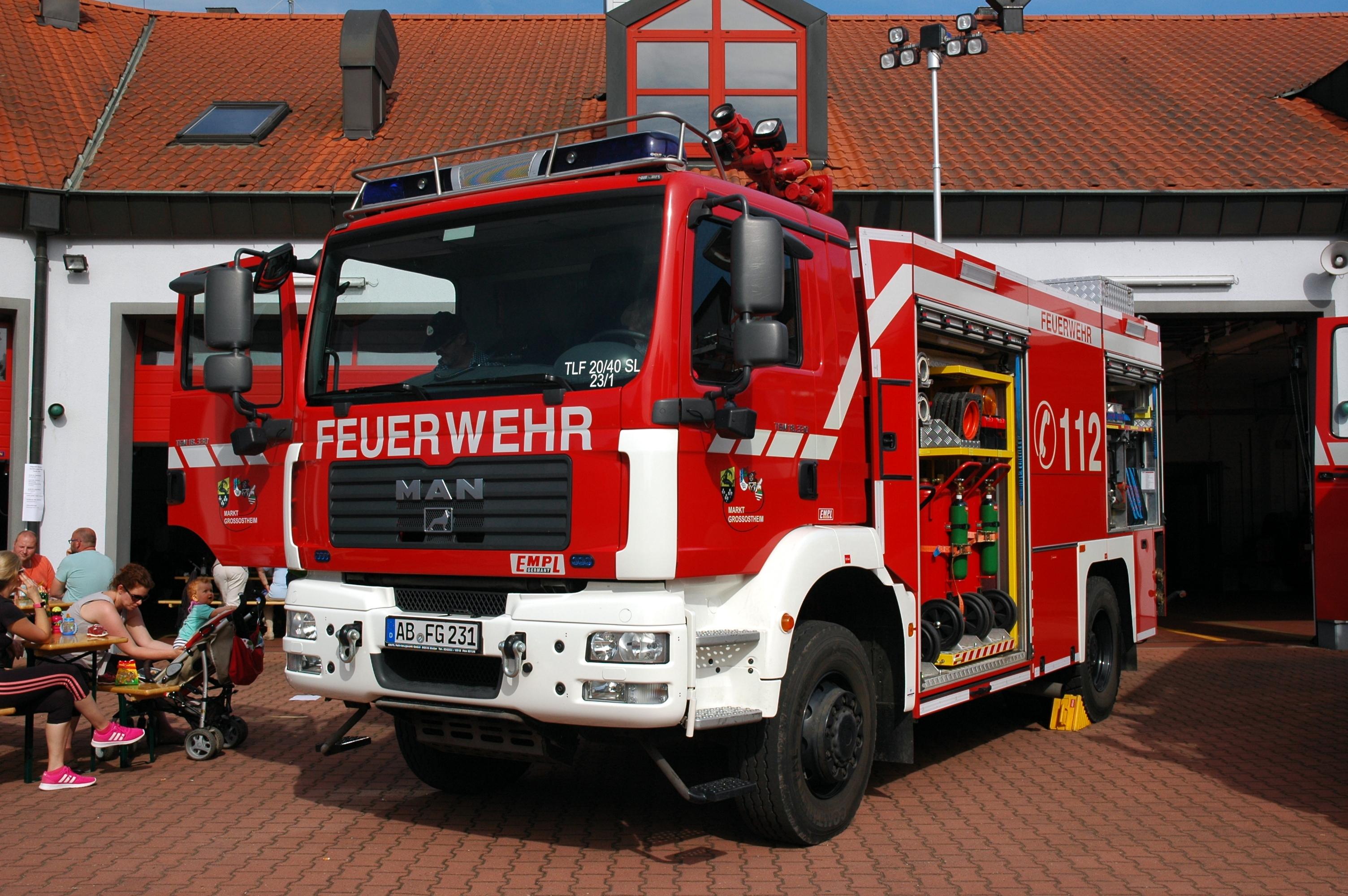 Filegroßostheim Feuerwehr Man Tgm 18 330 Empl Ab Fg 231
