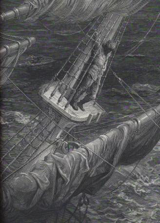 Gustave Dore Ancient Mariner Illustration