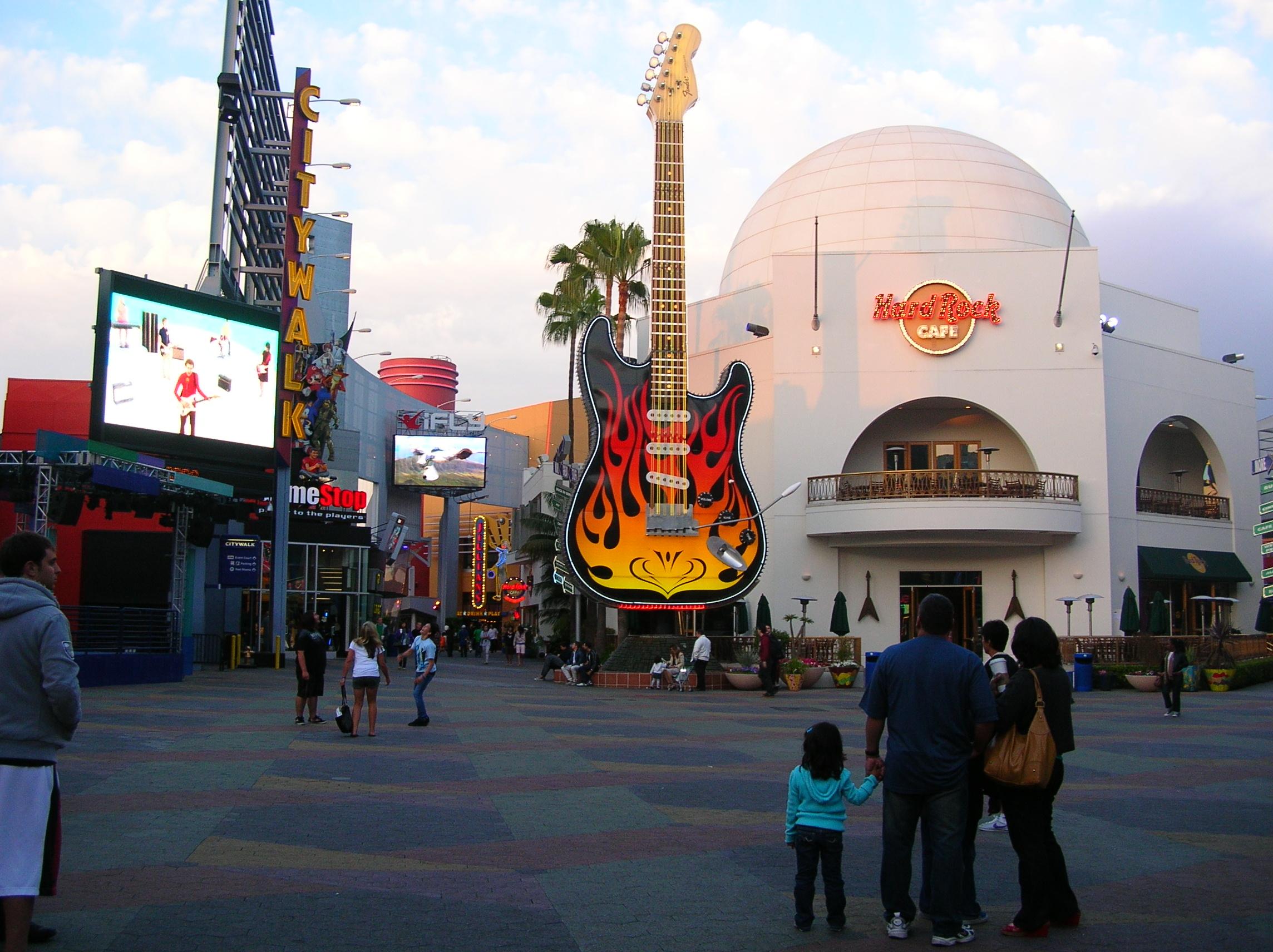 Hard Rock Cafe Hollywood Images
