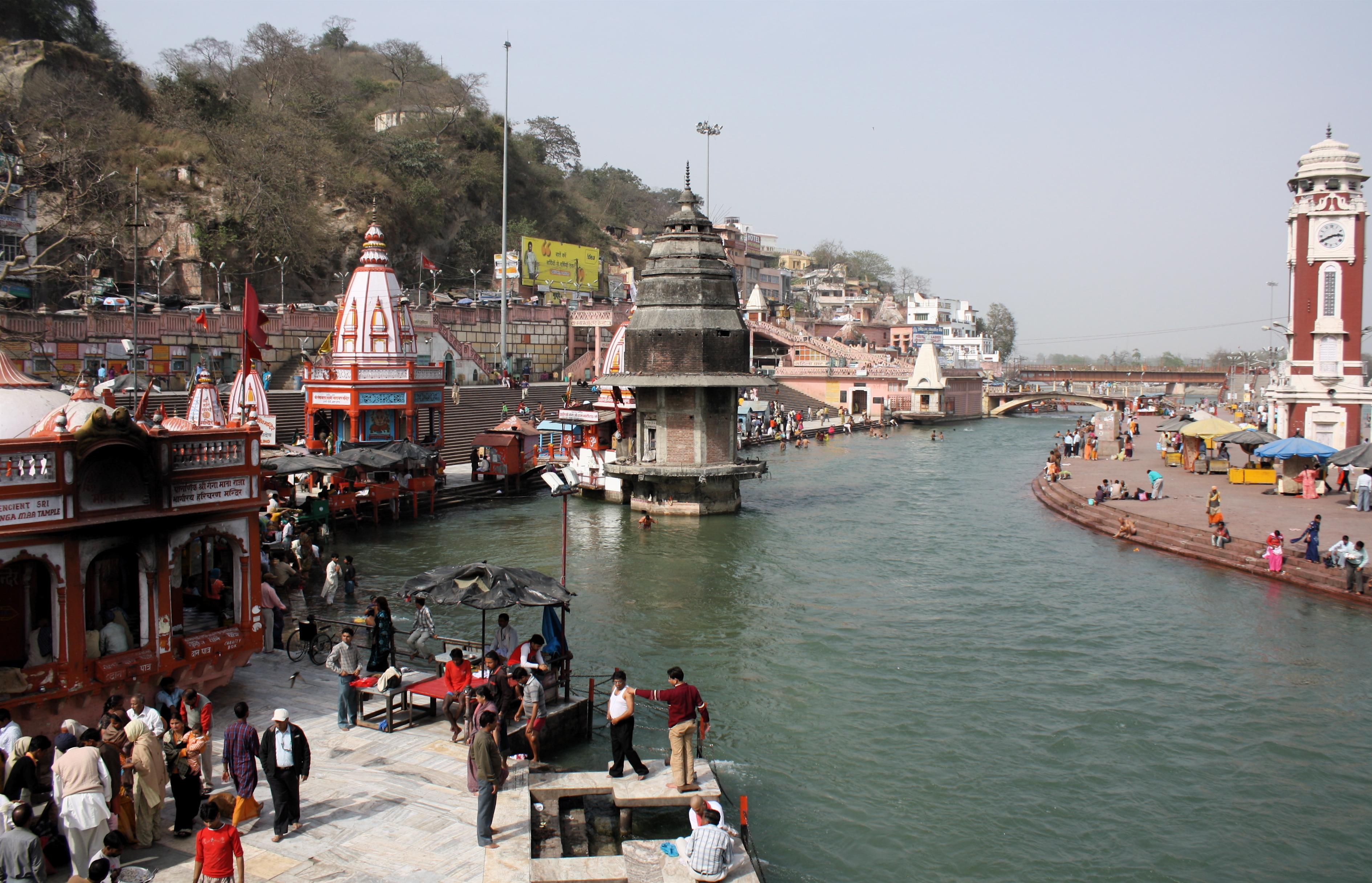 Visit to haridwar