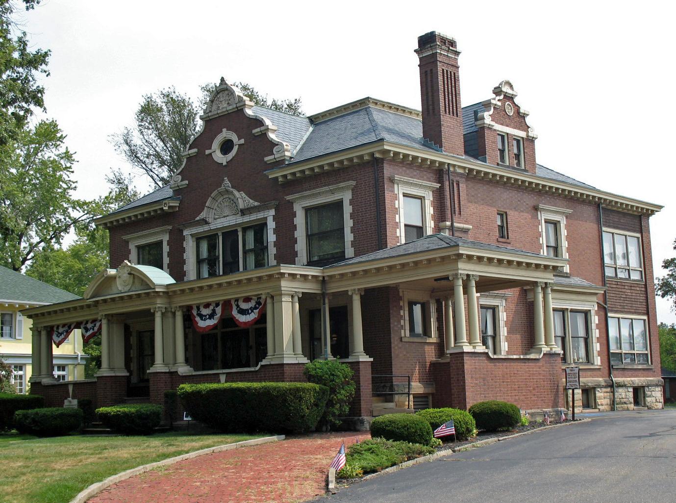 File Harry S Renkert House Canton Oh Jpg Wikimedia