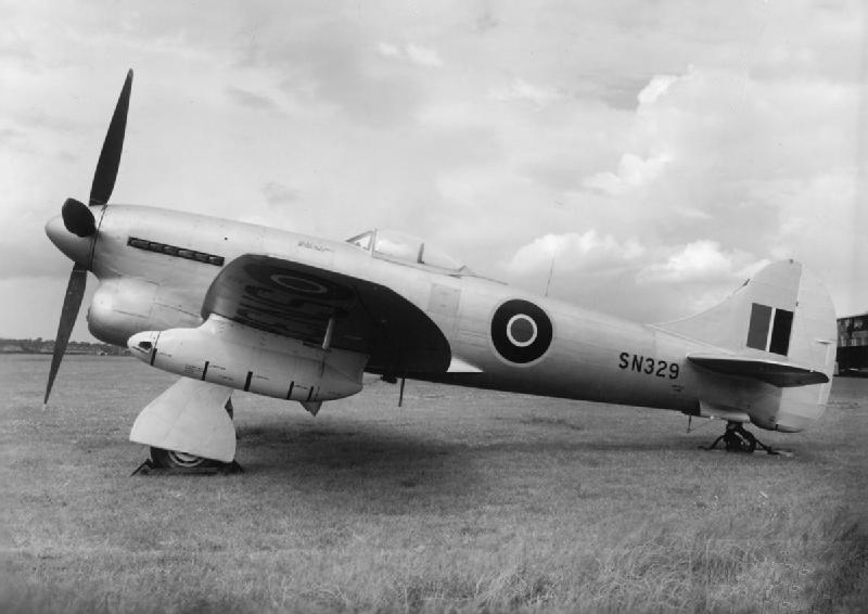 File:Hawker Tempest TT Mk.5 target tug 1948.jpg
