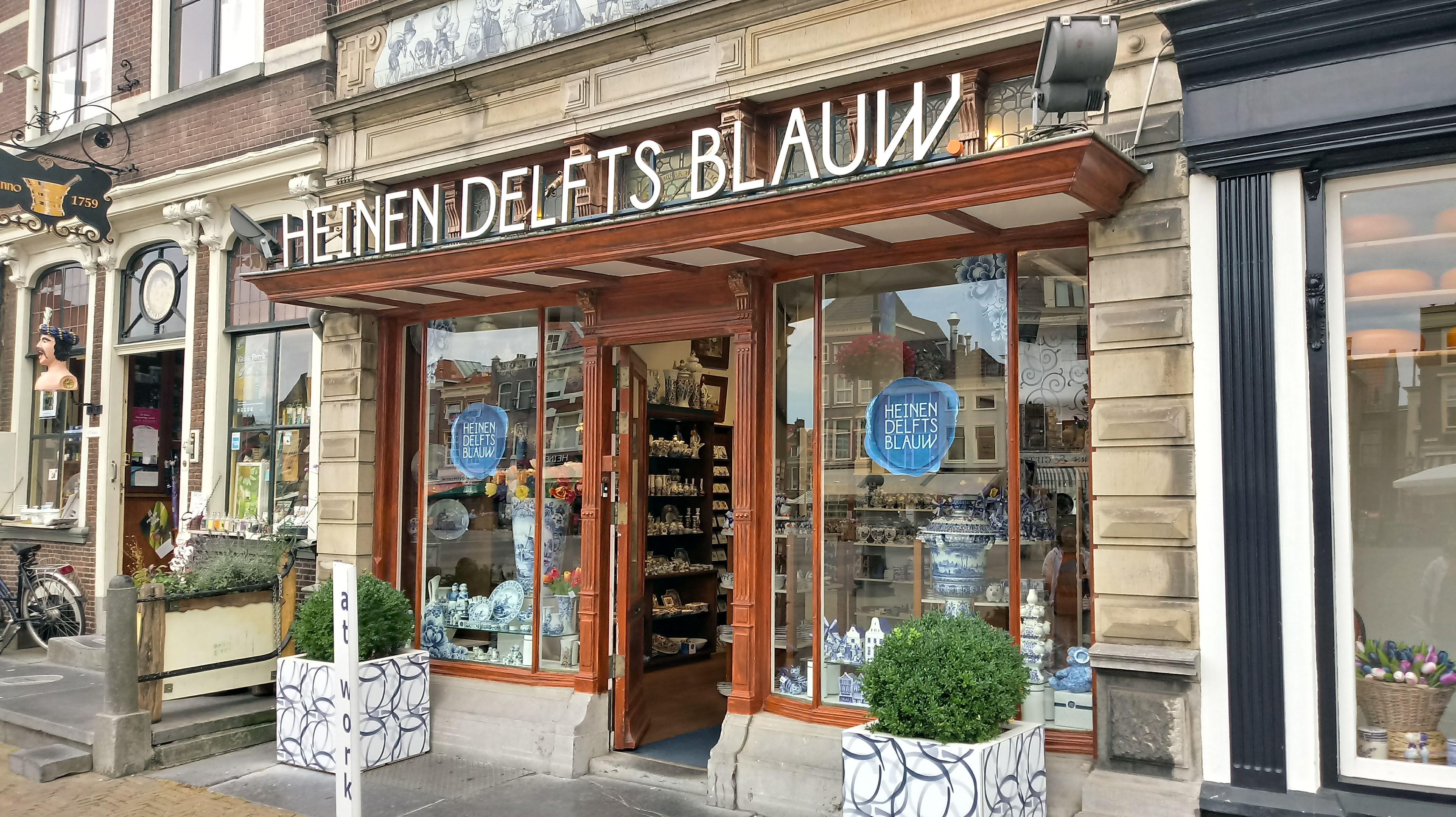 Goede Heinen Delfts Blauw - Wikipedia YH-49