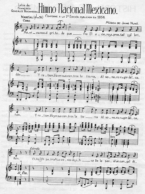 himno de mexico significado