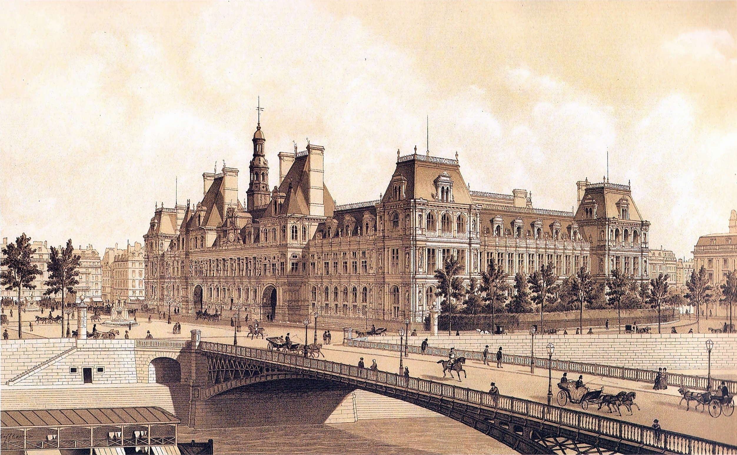 File Hotel De Ville Paris Hoffbauer 1883