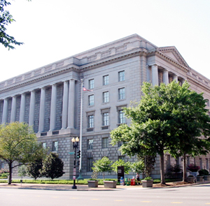 The IRS building on Constitution Avenue, Washi...