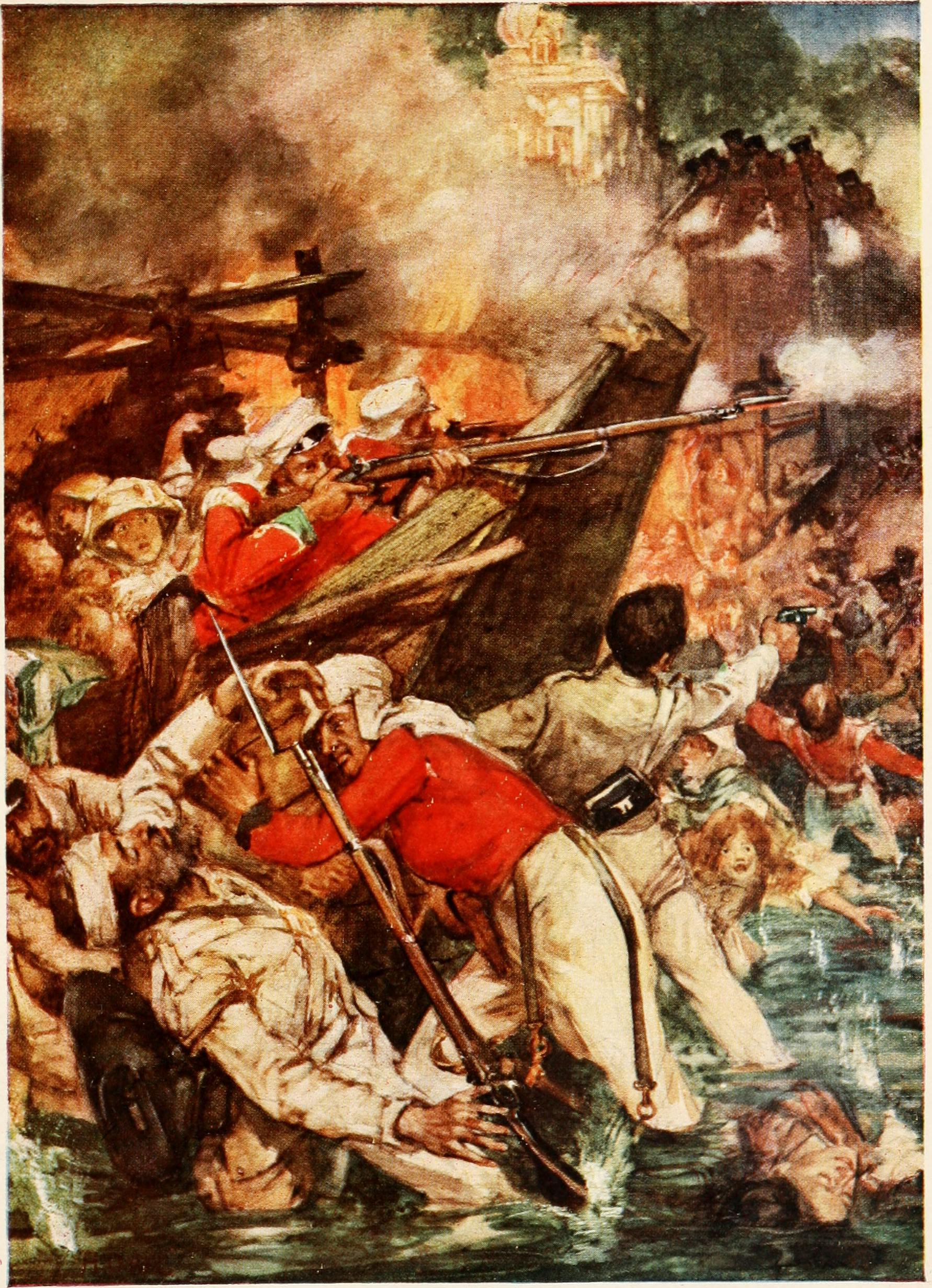 indian rebellion of 1857 Indian rebellion of 1857's wiki: the indian rebellion of 1857 was a major, but ultimately unsuccessful, uprising in india in 1857–58 against the rule of the british east india company, which functioned as a sovereign power on behalf of the british crown.
