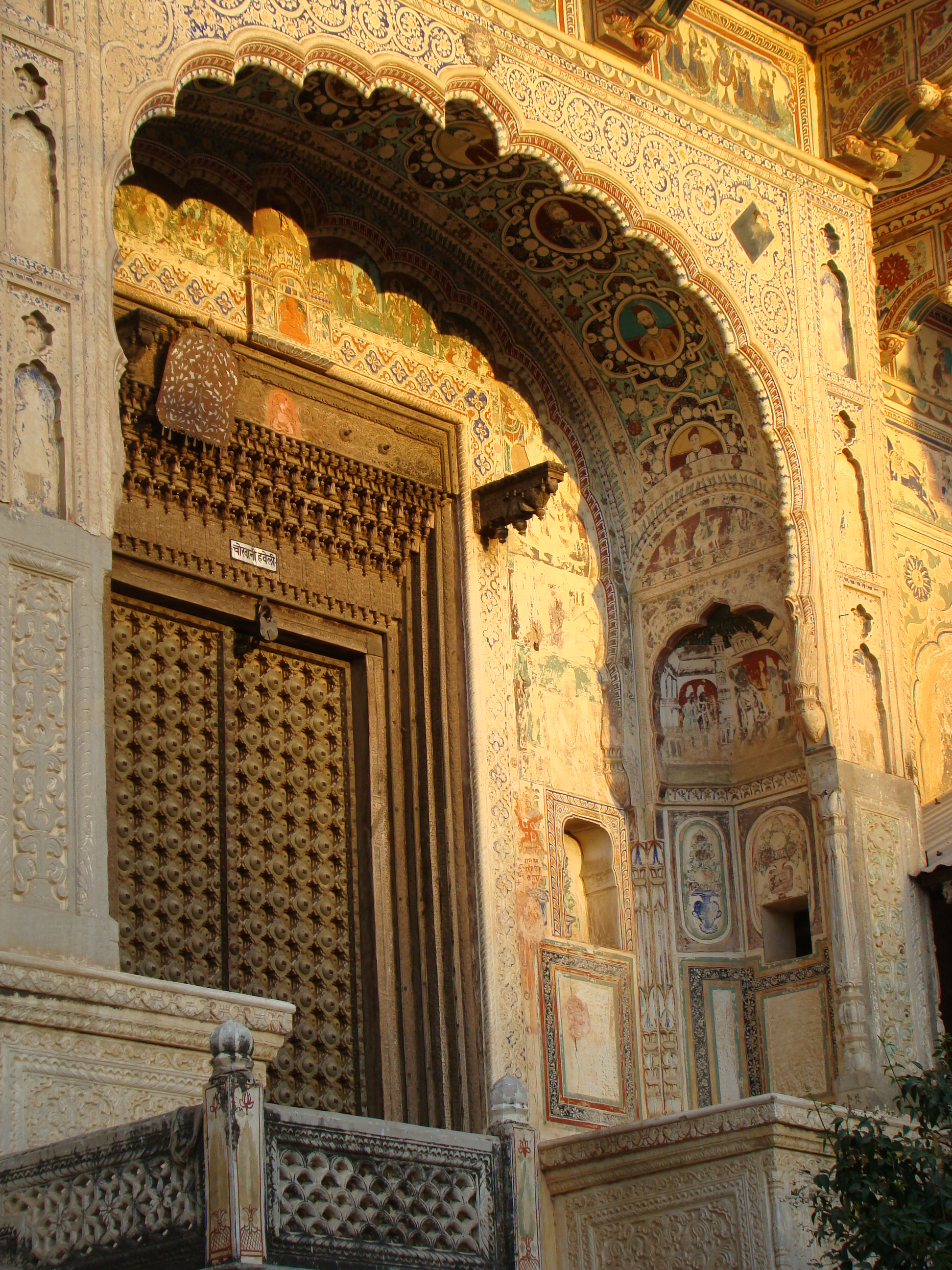 Mandawa India  City new picture : India Mandawa haveli 04 ni Wikimedia Commons
