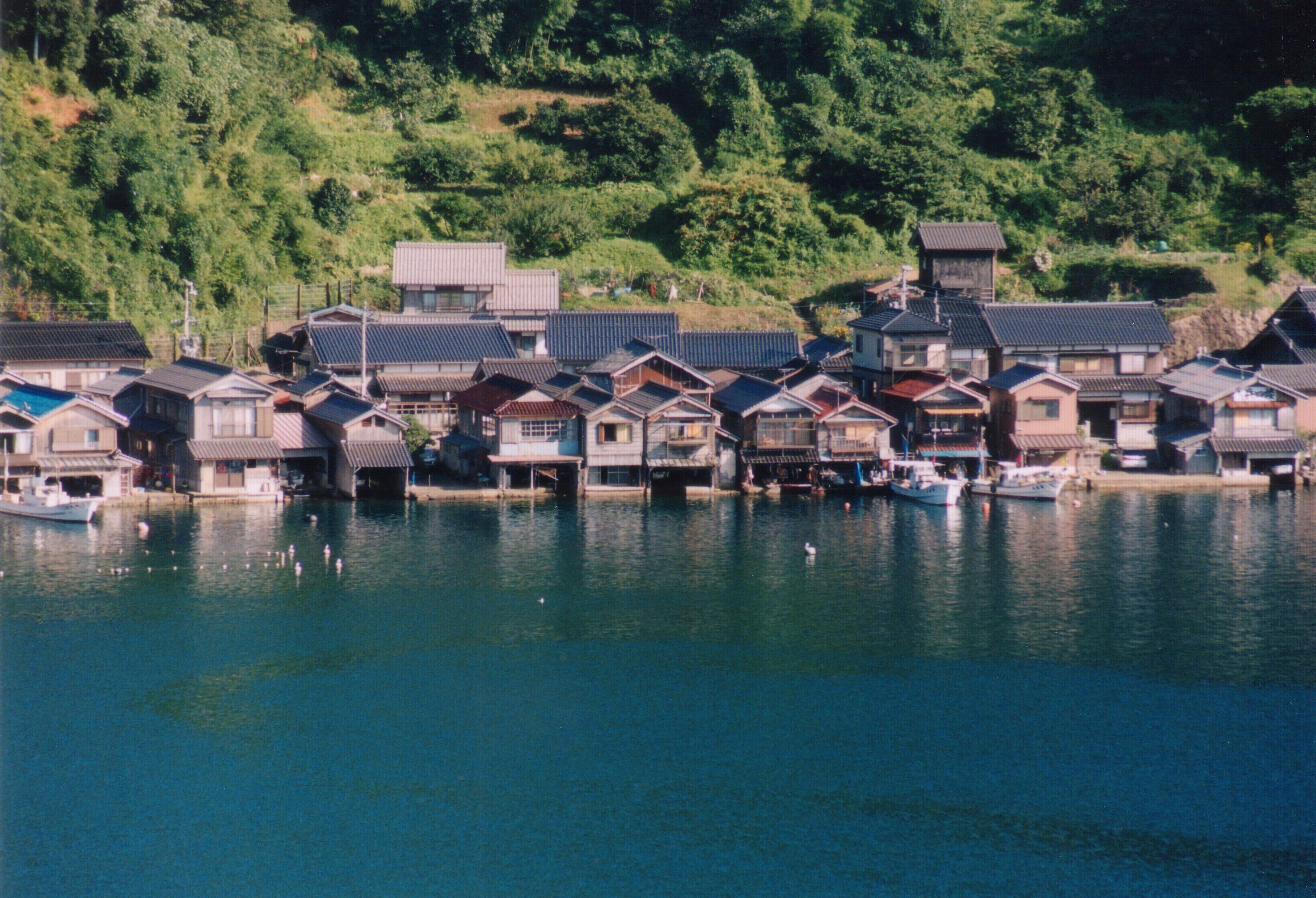 discover funaya houses in ine kyoto��taiken japan