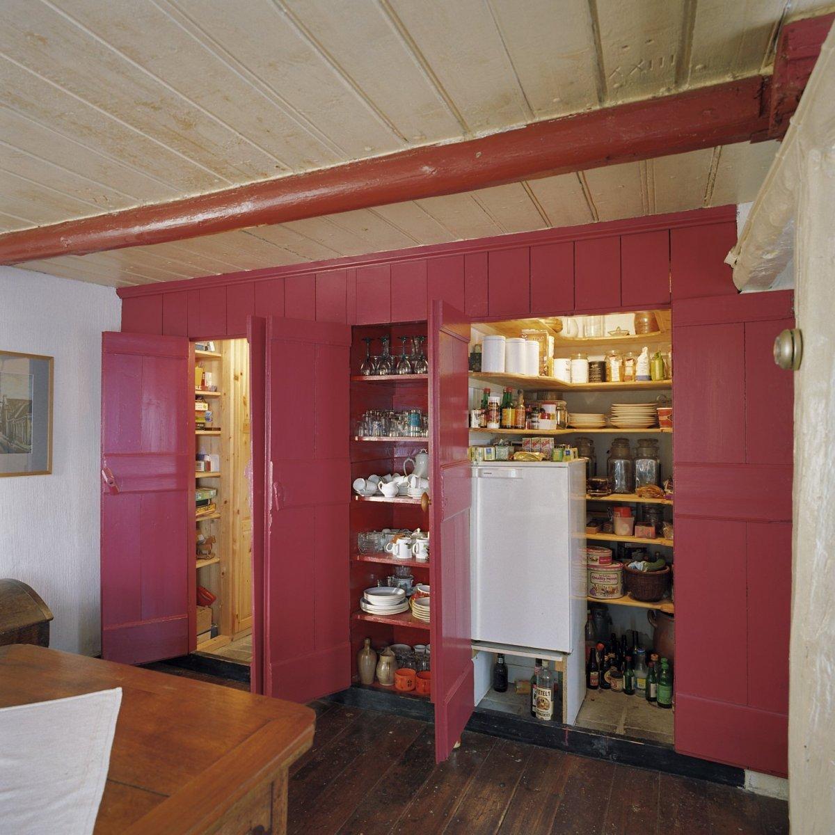File interieur bedstedewand in de woonkamer geopend met for Interieur woonkamer