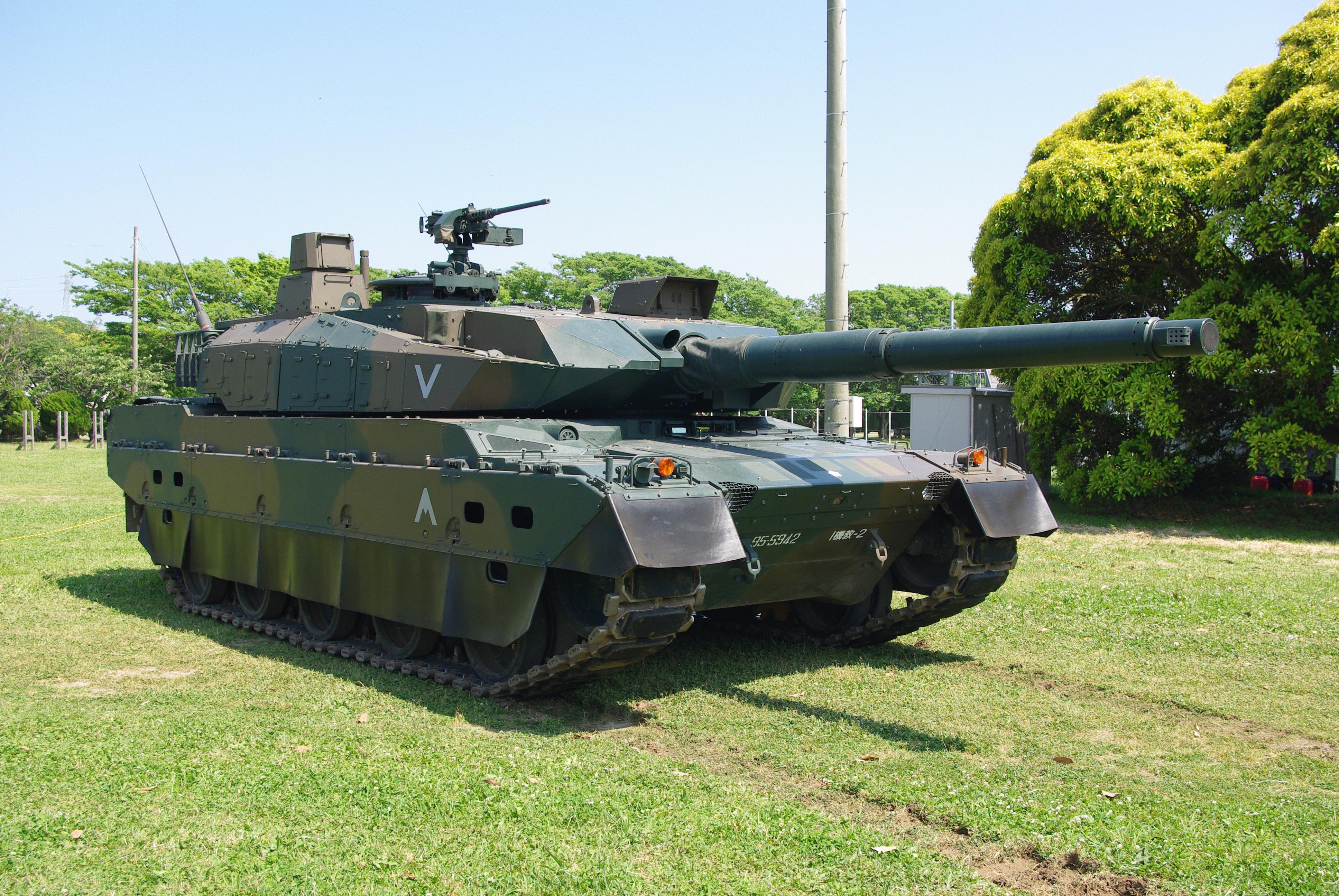 Stealth Tank JGSDF_Type10_tank_20120527-08