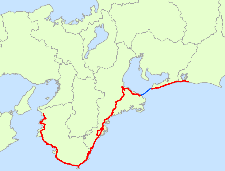 FileJapan National Route Mappng Wikimedia Commons - Japan map 9