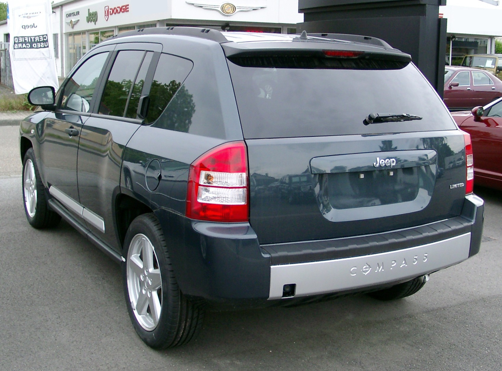 file:jeep compass limited rear 20080517 - wikimedia commons