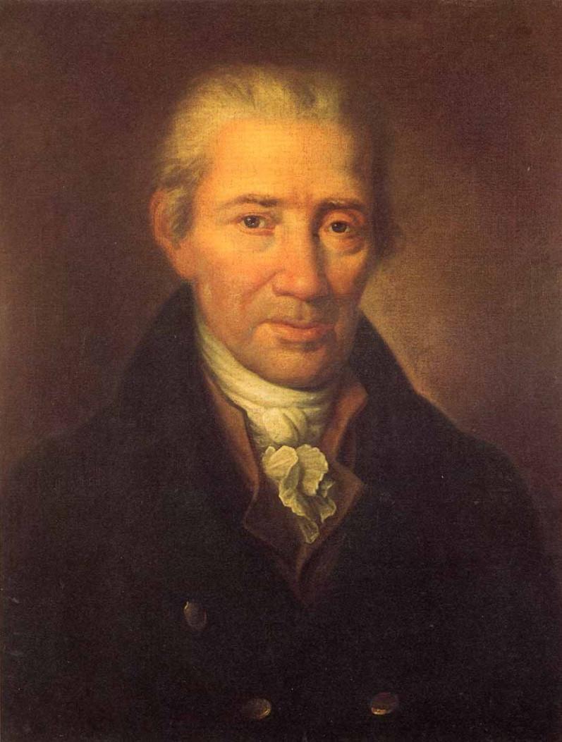 Johann Georg Albrechtsberger portrait by [[Leopold Kupelwieser