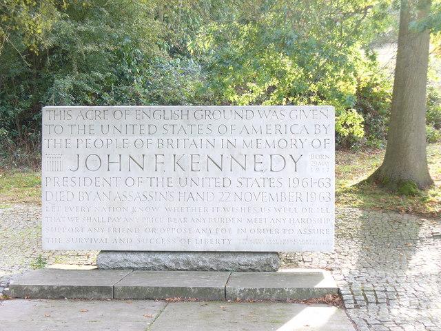 Kennedy Memorial, Runnymede - geograph.org.uk - 1501468
