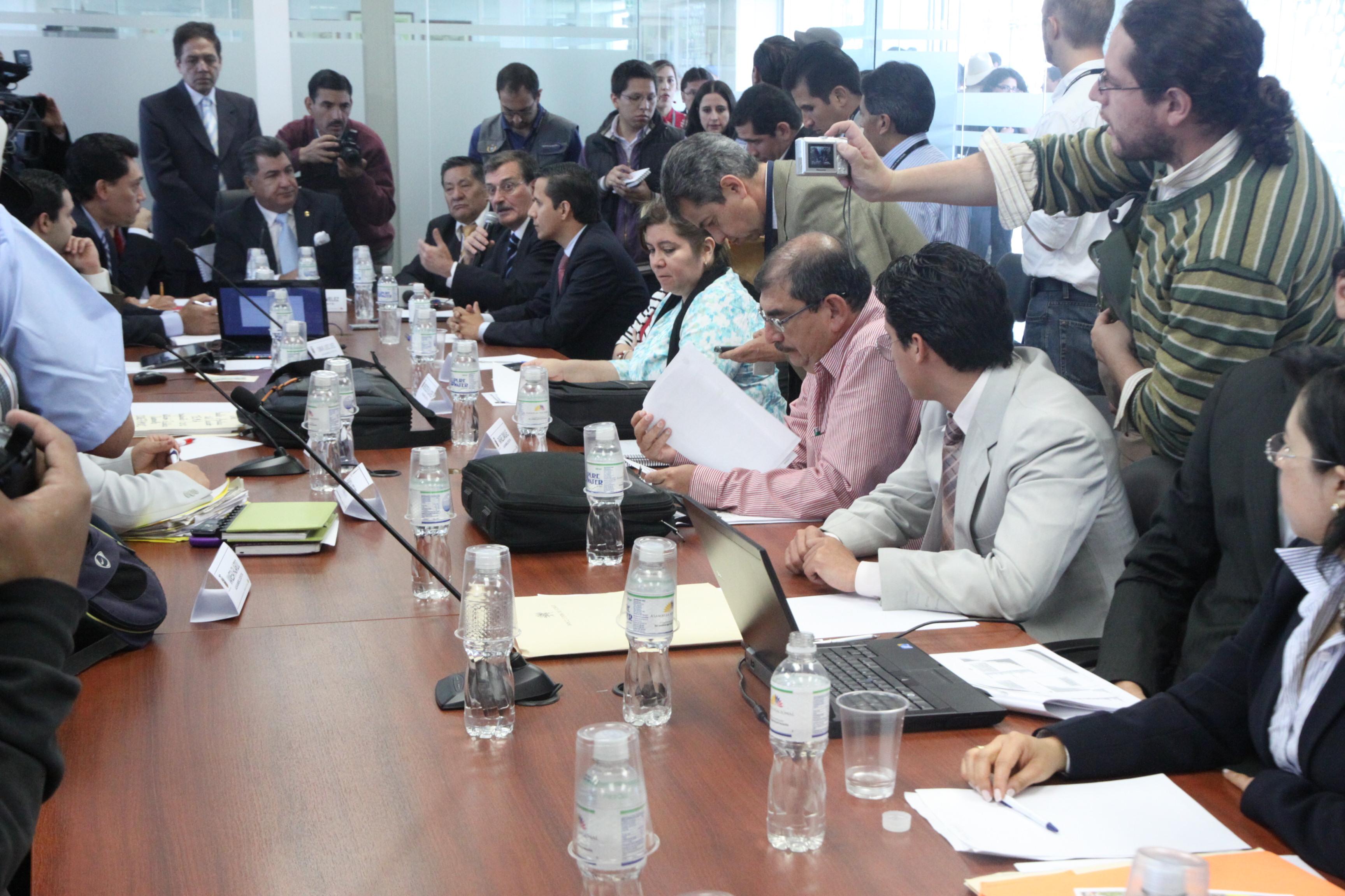 de Desarrollo Económico recibió al Ministro de Recursos Naturales no Renovables, Wilson Pástor (6354674507).jpg Español: Foto: Hugo Ortiz Ron / Asamblea