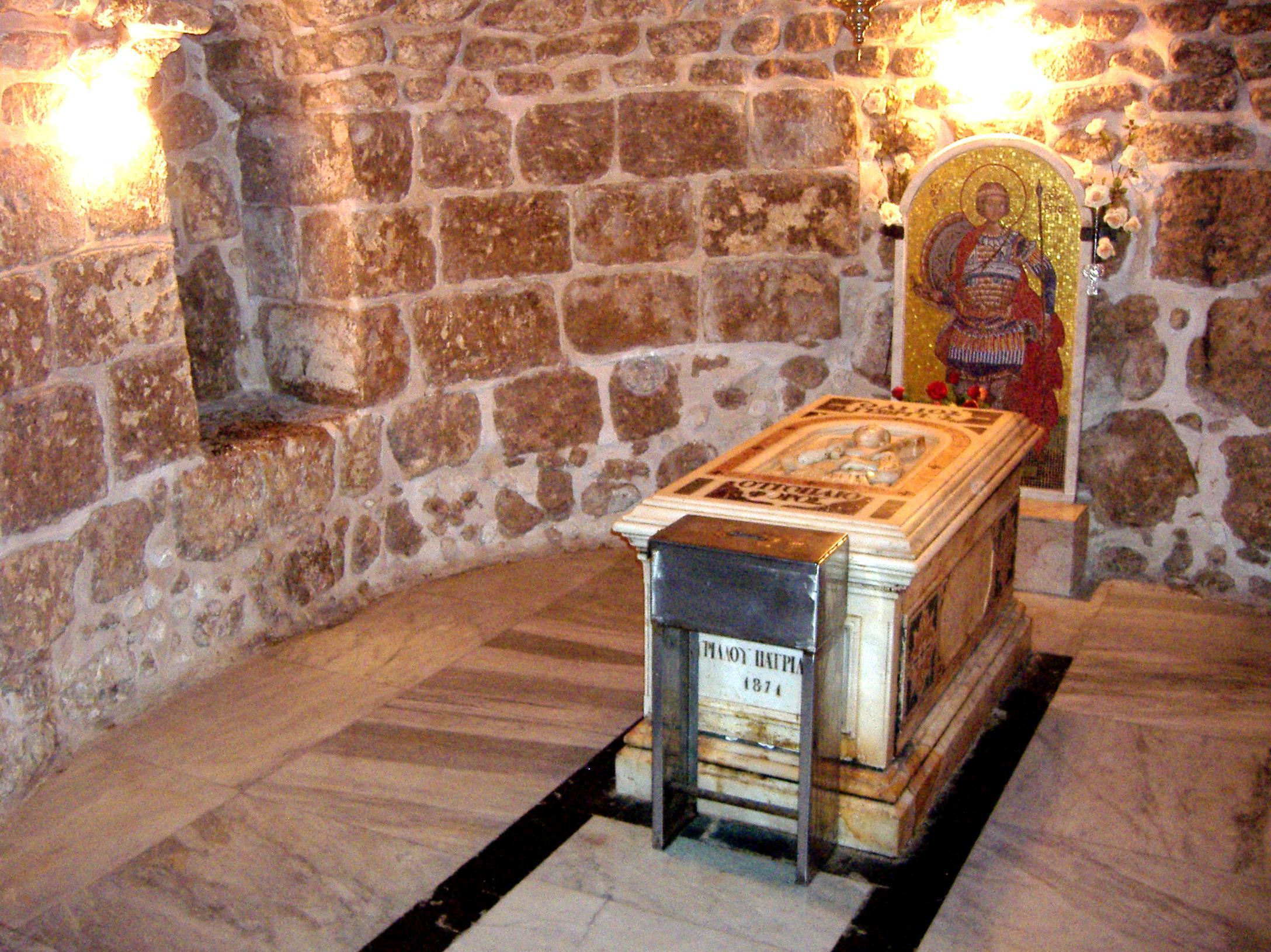 Αποτέλεσμα εικόνας για Ανακομιδή των Ιερών Λειψάνων του Αγίου Γεωργίου του Μεγαλομάρτυρα και Τροπαιοφόρου και Ανάμνηση εγκαινίων του Ναού του στη Λύδδα της Ιόππης