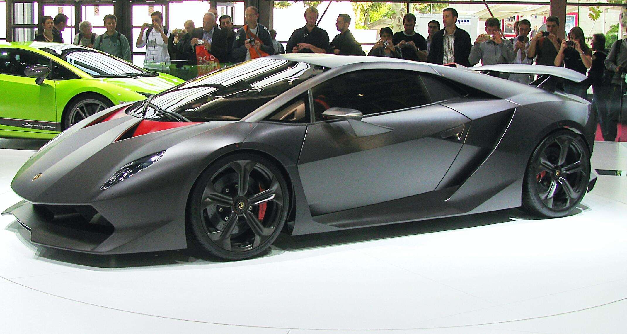 Lamborghini Sesto Elemento , Wikipedia