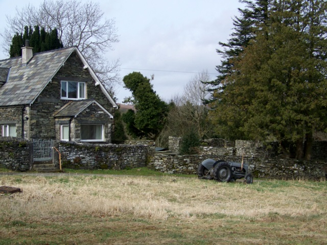 File:Little Grey Fergie at Blawith - geograph org uk