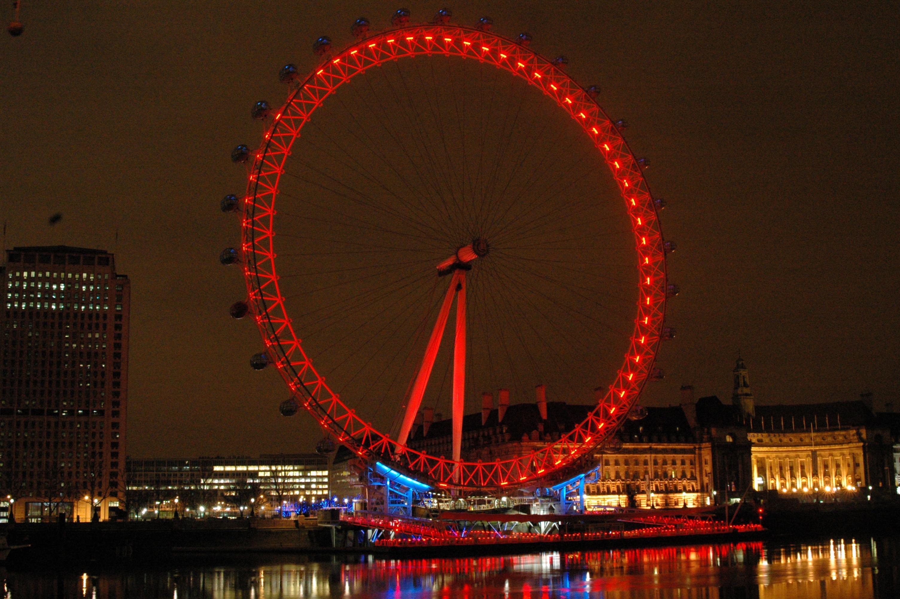 london eye by night - photo #8
