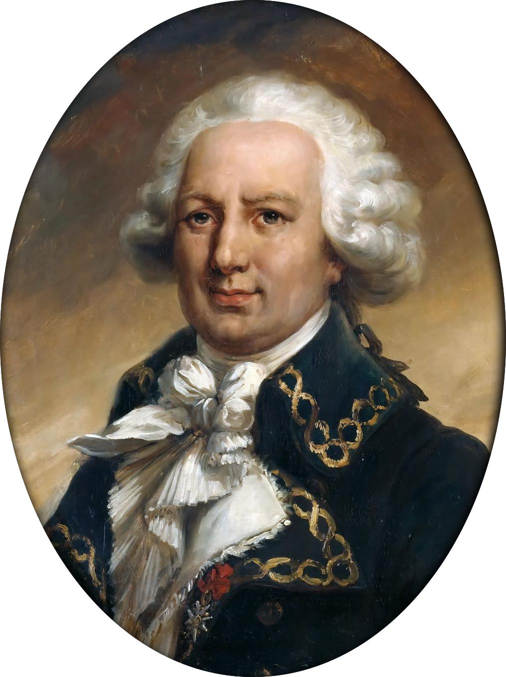 Louis Antoine de BougainvillePortrait par Jean-Pierre Franque.