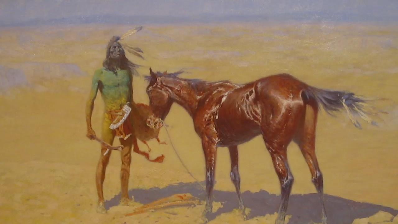 Remington S Painting