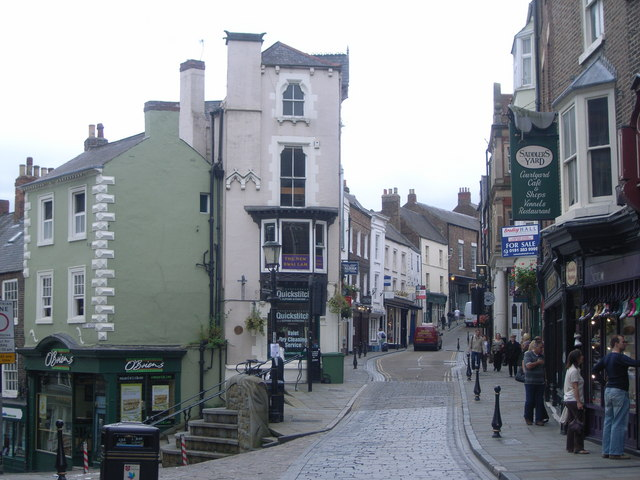 File Main Street Durham City Centre Geograph Org Uk 997591 Jpg