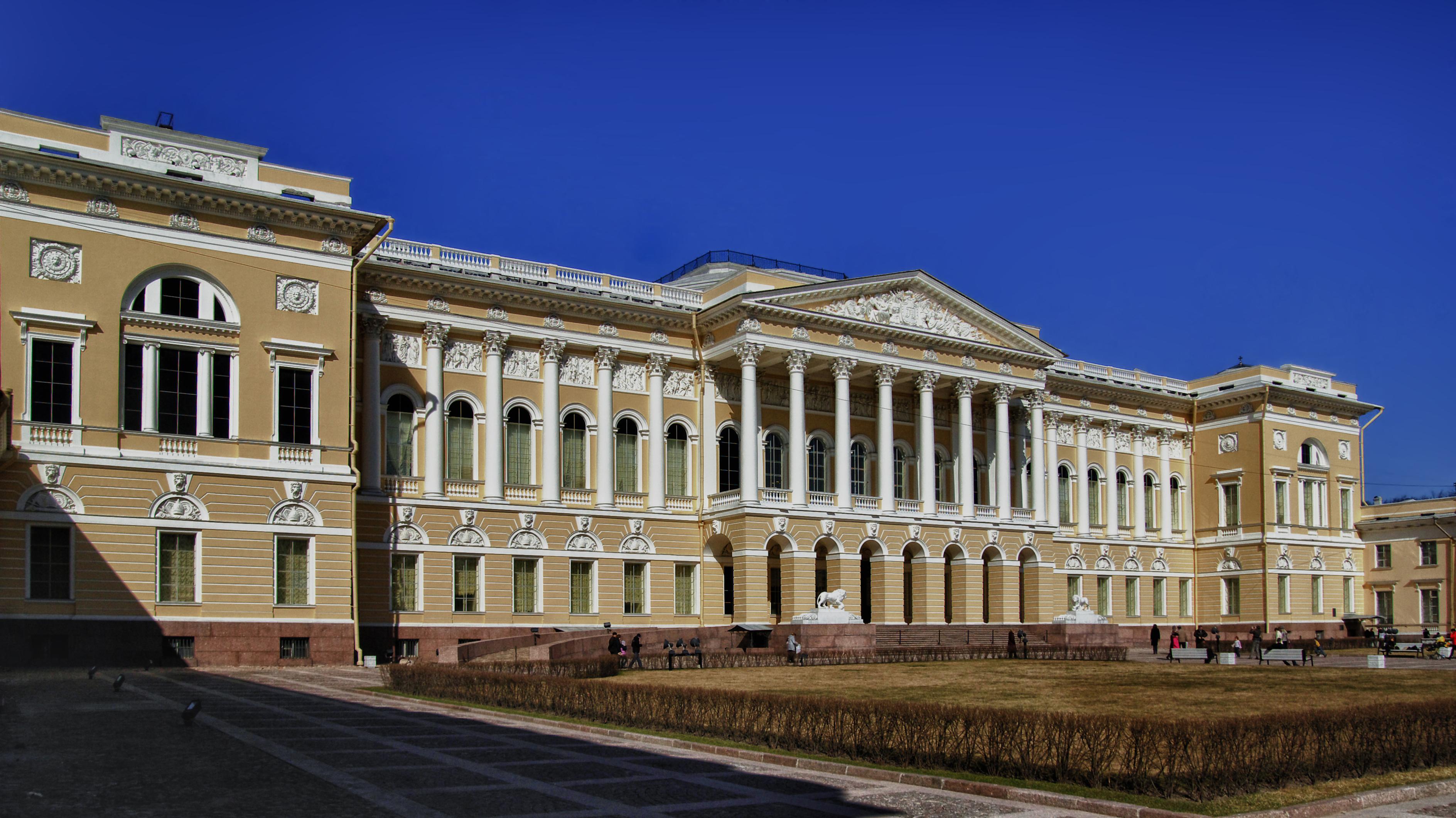 Mikhaylovsky Palace on 17 April 2011