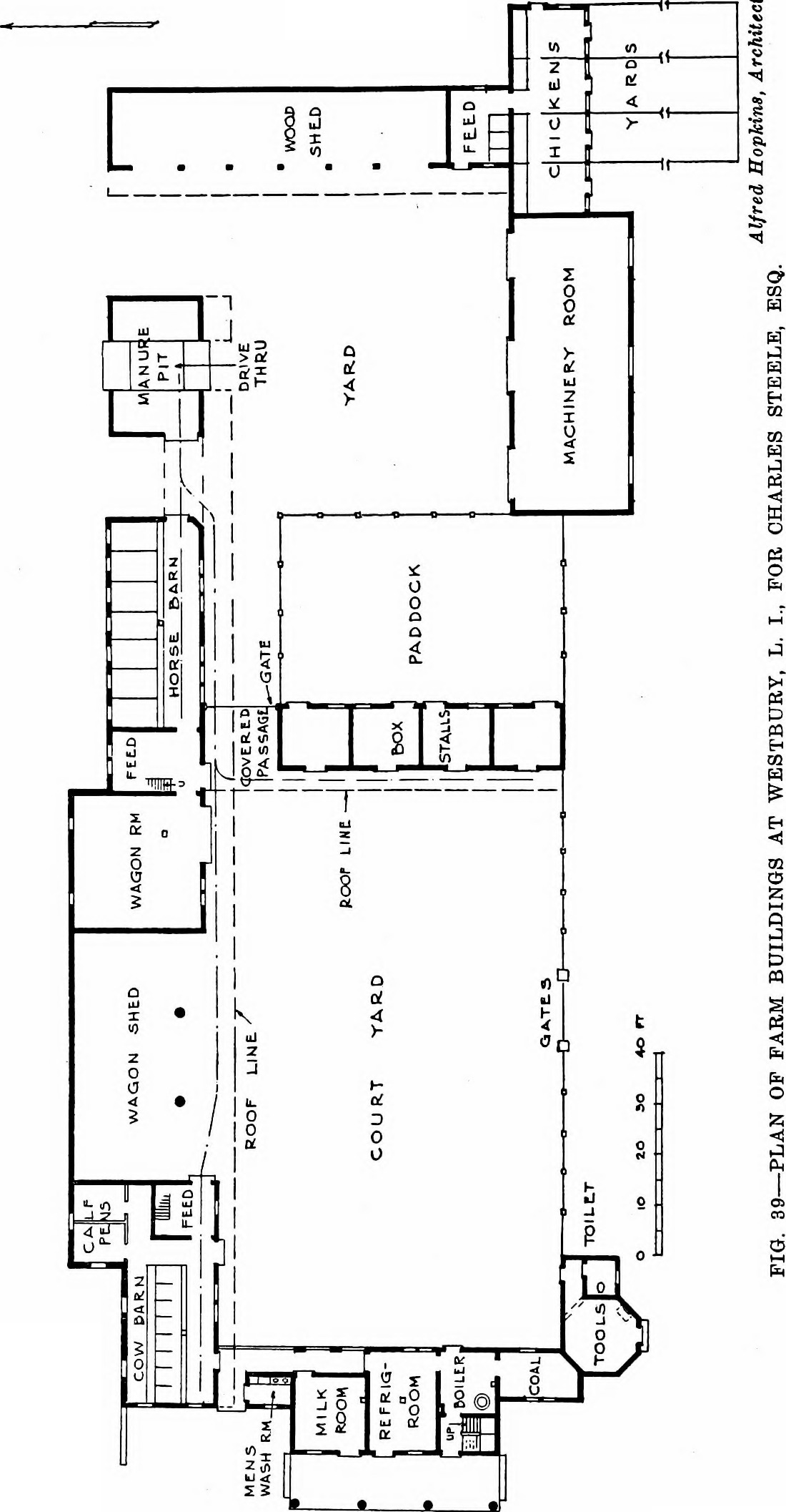 Piggery Floor Plan Design File Modern Farm Buildings Being Suggestions For The