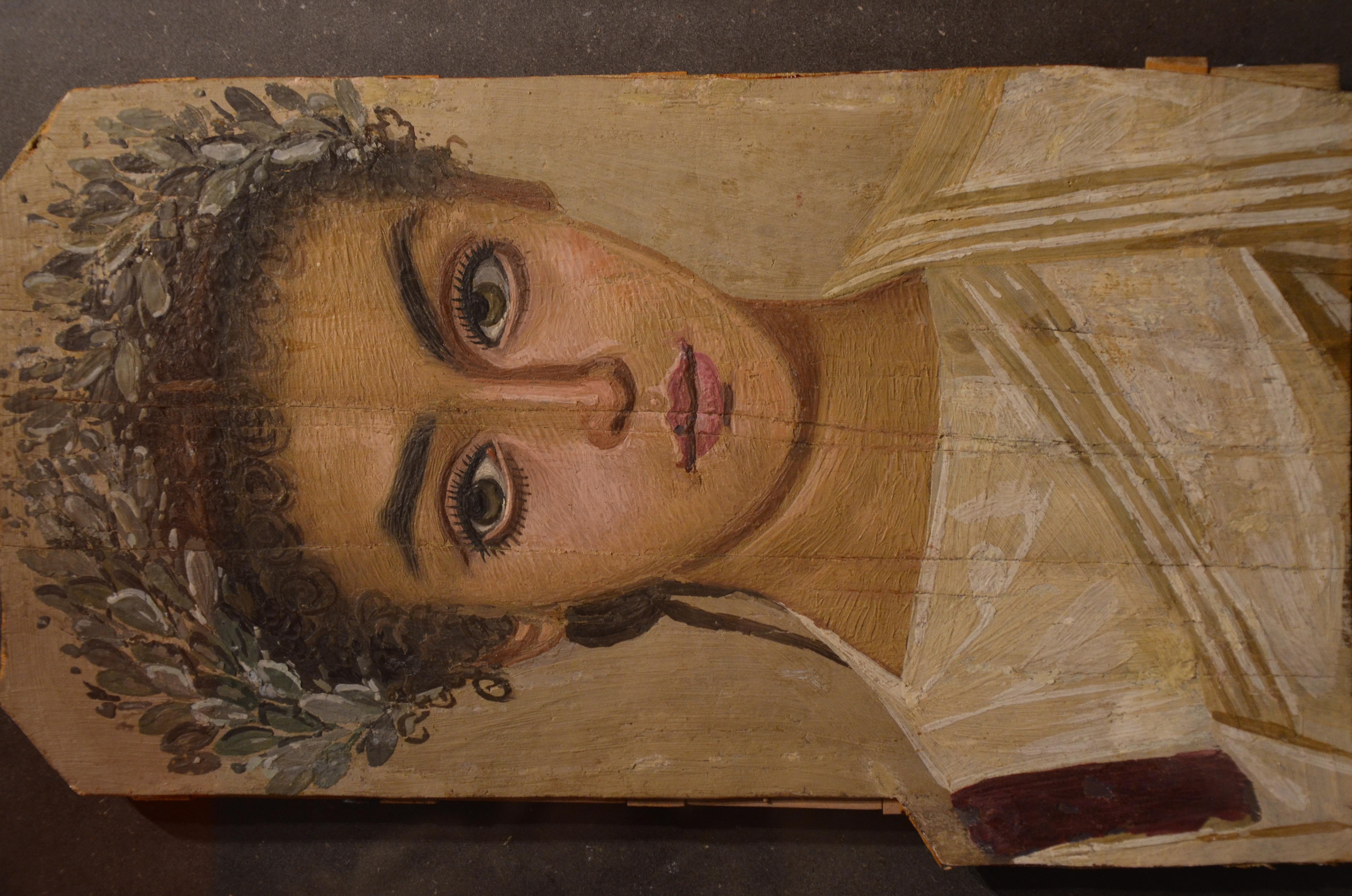 File Mummy Portrait Of A Girl Ad 120 150 Roman Egypt