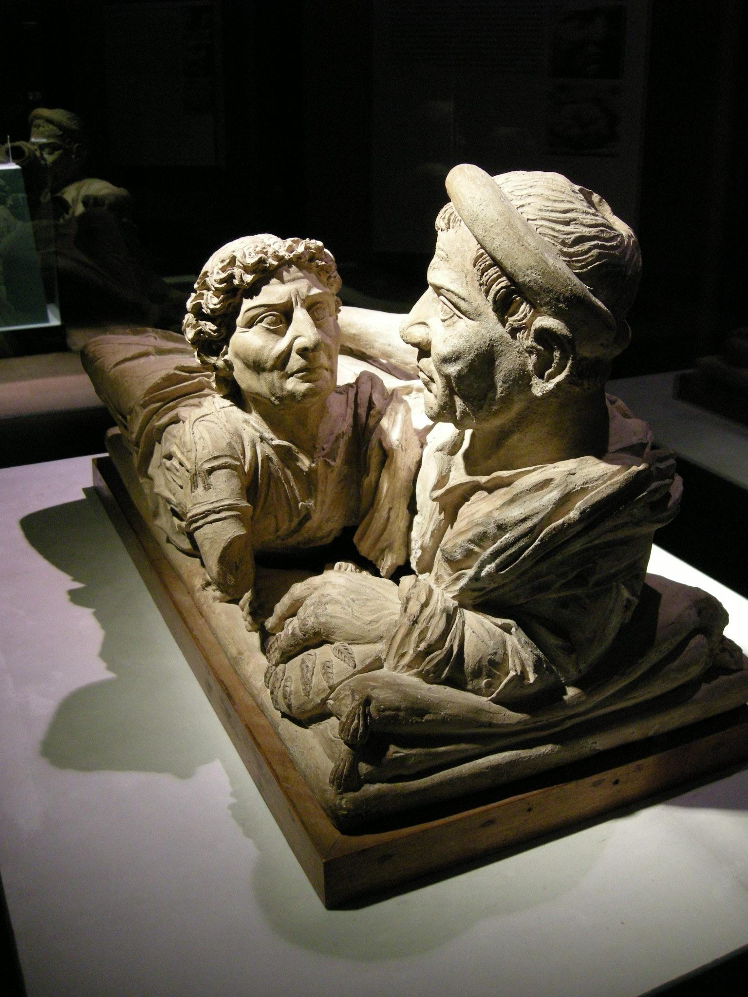 File museo guarnacci urna degli sposi i sec ac 03 jpg for Degli sposi