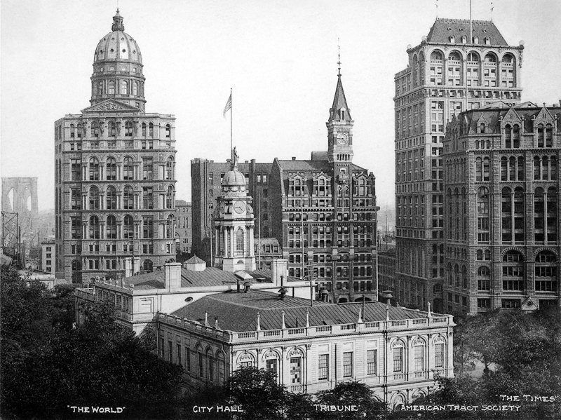 List of early skyscrapers