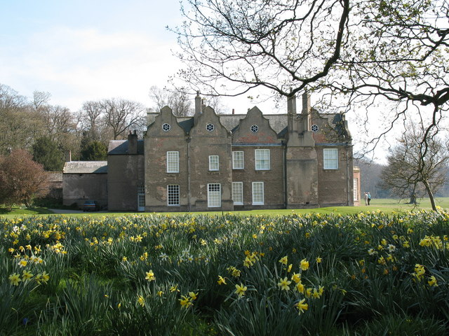 The medieval Norton Conyers house in Wensleydale, North Yorkshire, England.