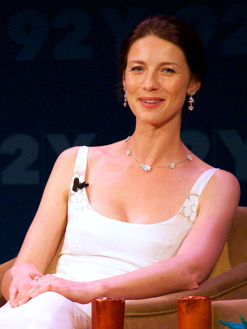 Balfe at an event for ''[[Outlander (TV series)|Outlander]]'' in 2014